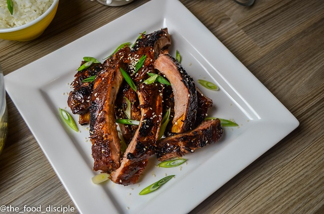 Korean BBQ Baby Back Ribs