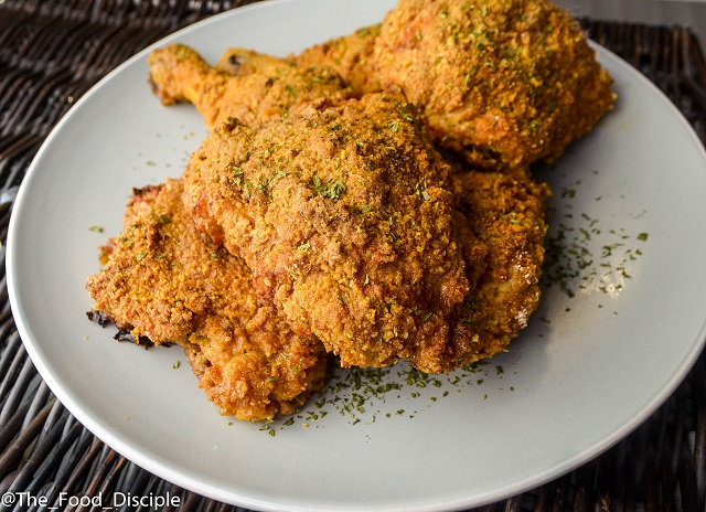 Southern Buttermilk Fried Chicken (Oven-Fried)