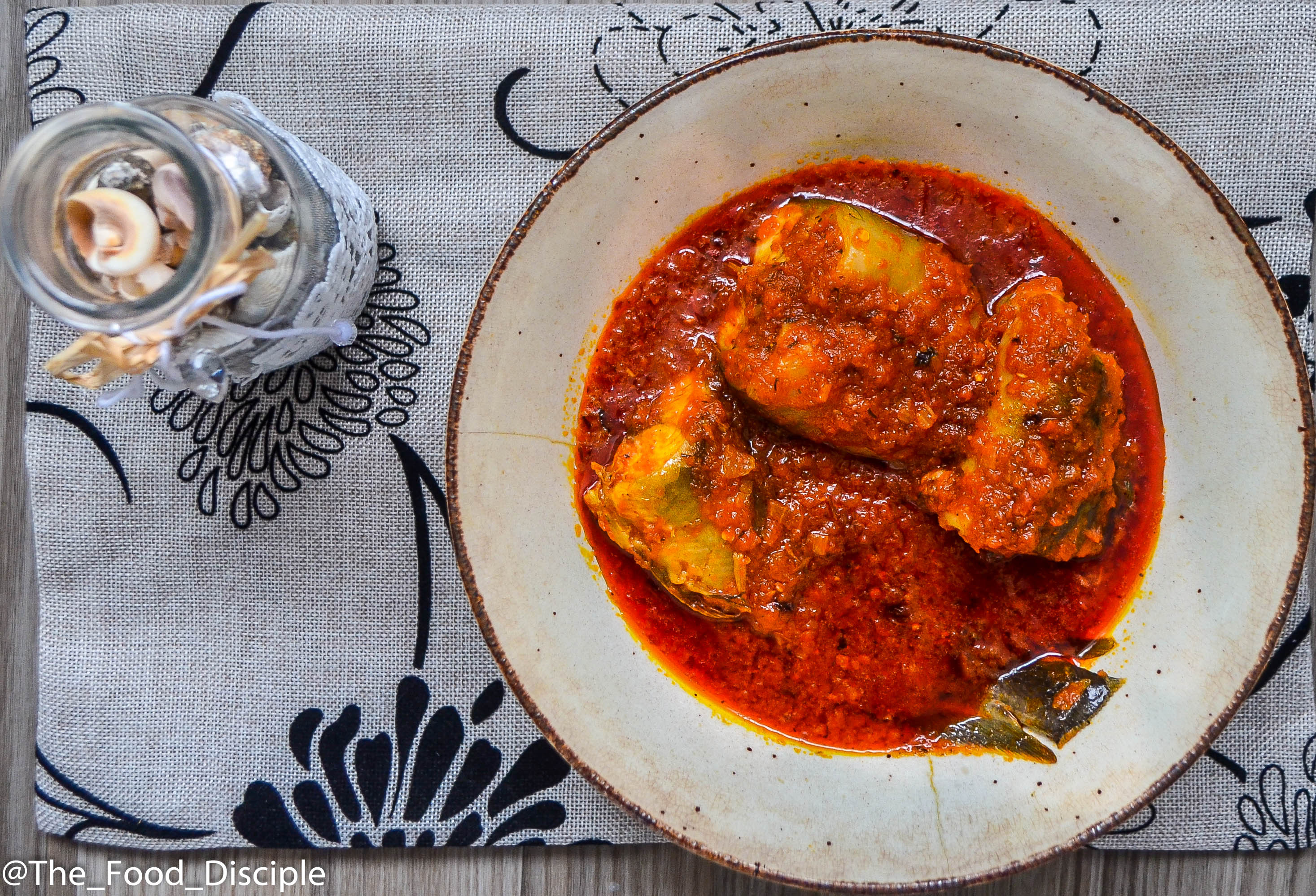 Catfish Stew (Tomato Sauce)