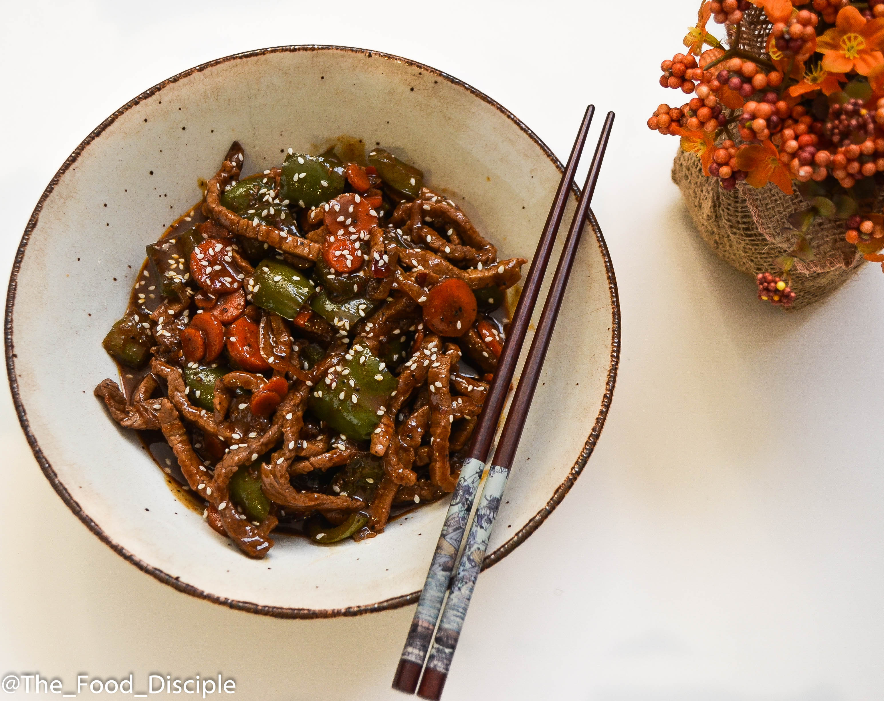 Black Pepper Honey Beef Sauce